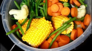 How To Cook Five Different Vegetables | #ChefRicardoCooking