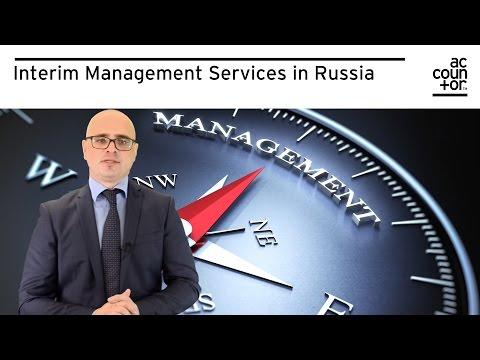 Interim Management Services in Russia