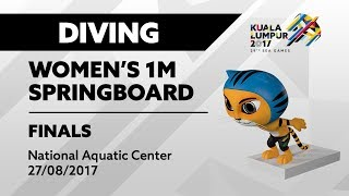 Download Video KL2017 29th SEA Games | Diving - Women's 1m Springboard FINALS | 27/08/2017 MP3 3GP MP4