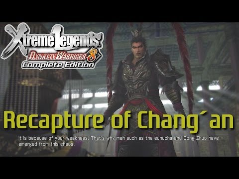 Dynasty Warriors 8 Xtreme Legends | Recapture of Chang'an (Lu Bu Hypothetical Route - English)