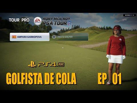 Amparo Garikopova EA SPORTS™ Rory McIlroy PGA TOUR® PS4 PRO  Español Gameplay