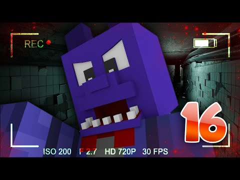 Minecraft: Five Nights At Freddy's Horror Survival w/FaceCam Ep.16