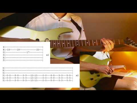 GuitarCover Three Days Grace   Fallen Angel with Tab