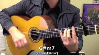 """""""Moorea"""" by Gipsy Kings chord progression practice loop"""