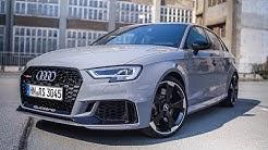 2018 Audi RS3 Sportback Test Drive | Review | Fahrbericht ///Lets Drive///