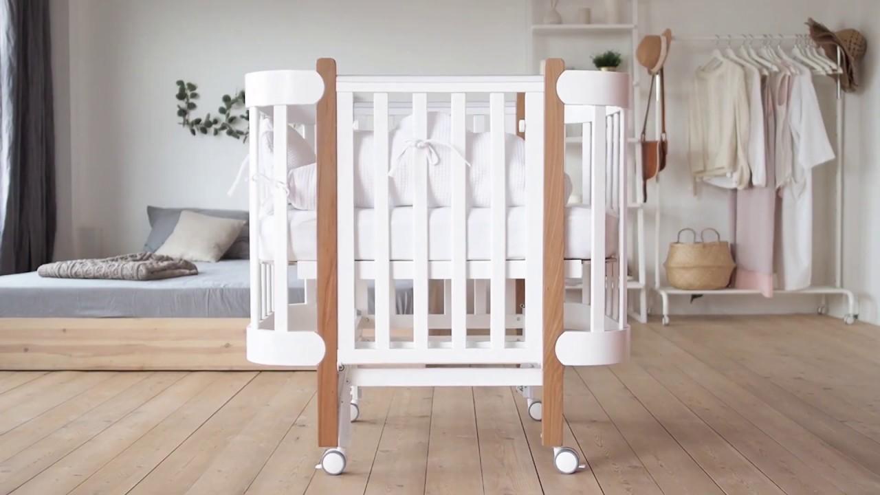 Детская кроватка-трансформер Happy baby Mommy lux