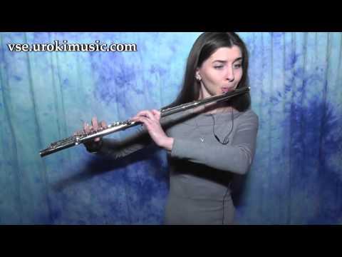Как играть на Флейте Jessie J, Ariana Grande, Nicki Minaj Bang Bang Cover самоучитель уроки обучение