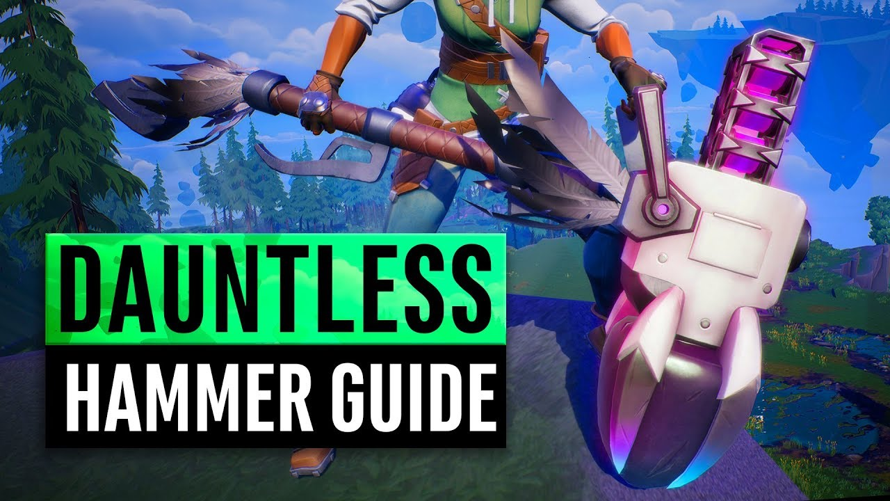 Dauntless | Hammer Tutorial | Weapon Guide 2019