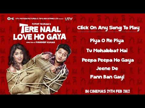 Tere Naal Love Ho Gaya Audio Jukebox - Full Songs Non Stop Travel Video