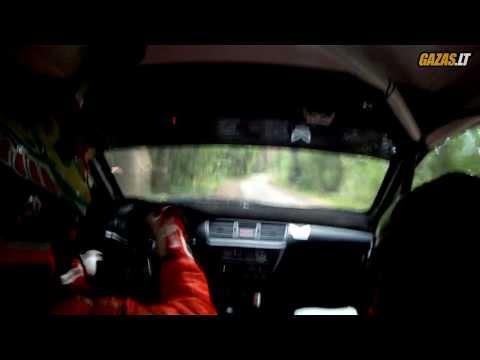 Autoplius 300 Lakes Rally 2013 SS1/3: Deividas Jocius and Kastis Torrau