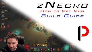 Diablo 3 - How to Rat - zNecro Guide - GR 95-110+ Speeds.