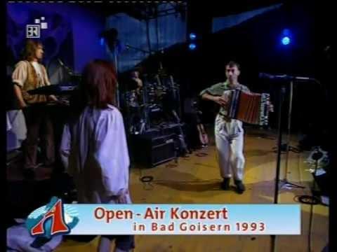 """Hubert von Goisern & die Alpinkatzen - Kren und Speck """"Live"""" 1993"""