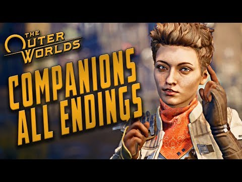The Outer Worlds - Companion Endings // ALL ENDING SLIDES |