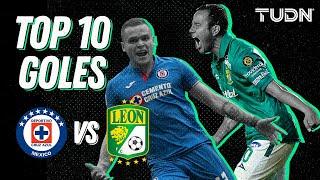 Top 10: Los mejores goles entre Cruz Azul y León | TUDN