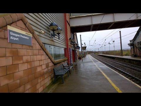 Prestwick International Airport Train Station
