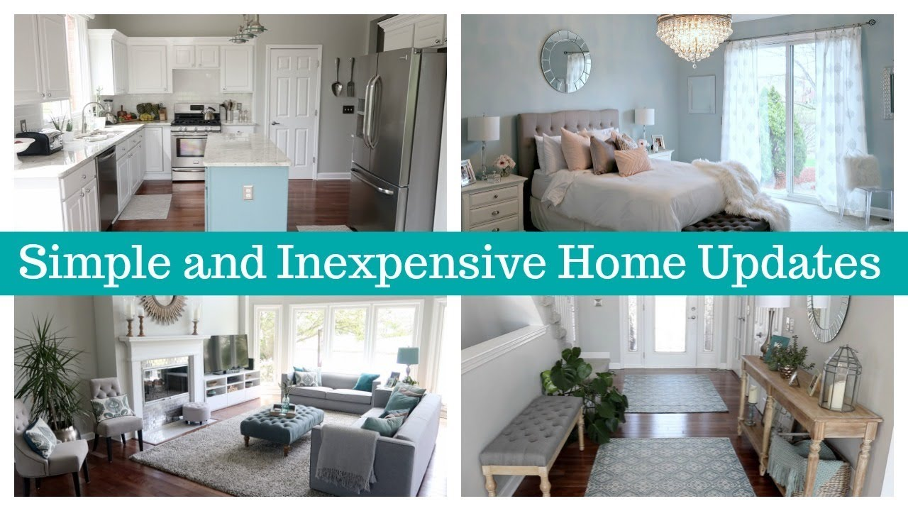 How To Update Your Home Simple And Inexpensive Improvements
