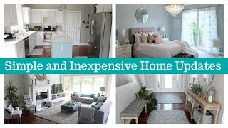 How to Update Your Home | Simple and Inexpensive Home Improvements