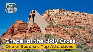 A glance at the Chapel of the Holy Cross in Sedona, Arizona