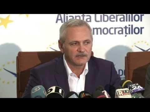 Conferinţă susţinută de Liviu Dragnea, Călin Popescu-Tăriceanu şi Daniel Constantin - 11.08.2016