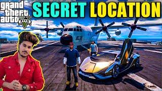 GTA 5 : SECRET LOCATION MEIN CAR HIDE KARNI PADEGI