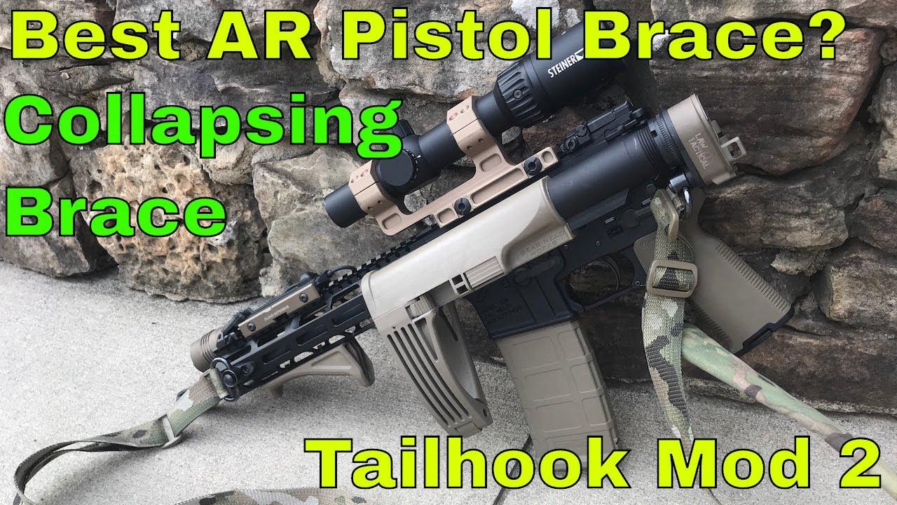Tailhook Mod 2 Review: The best AR15 Pistol Brace?