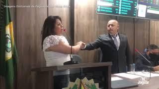 Vice prefeita Ana Karine   Pronunciamento Alto Santo   02 01 2021