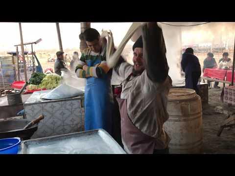 Uyghur dish is lengmen