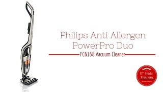 Philips Anti Allergen PowerPro Duo FC6168 Review Vacuum Cleaner