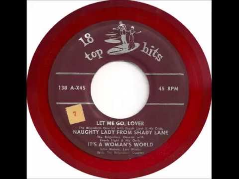 Brigadiers Quartet - Let Me Go Lover - 18 Top Hits 1380 - (1954?)