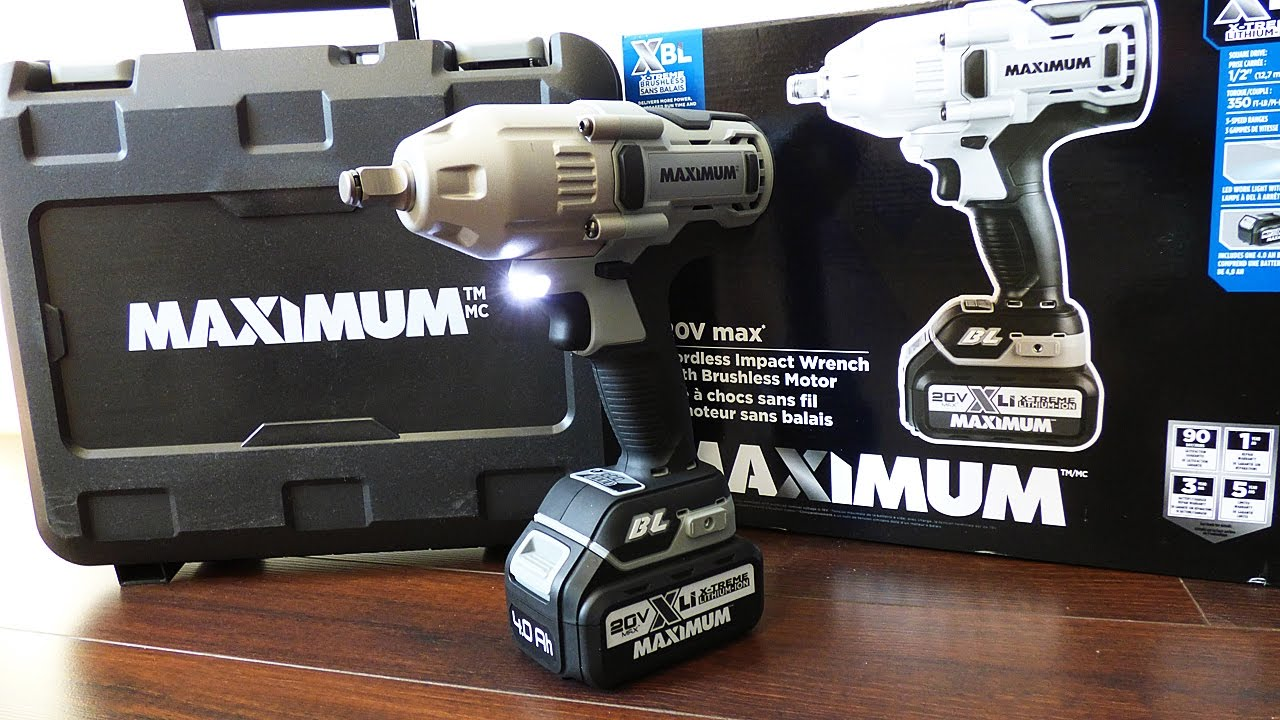 MASTERCRAFT MAXIMUM CORDLESS IMPACT WRENCH WINDOWS DRIVER DOWNLOAD