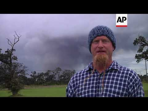 Hawaii residents deal with quakes and ash from Kilauea volcano