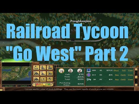 Railroad Tycoon 3 : Go West Part 2 |