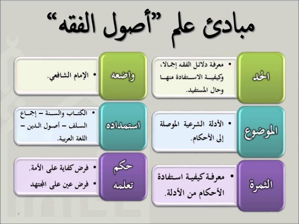 علم اصول الفقه pdf