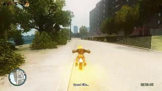 GTA 4 Ghost rider Mod Gameplay