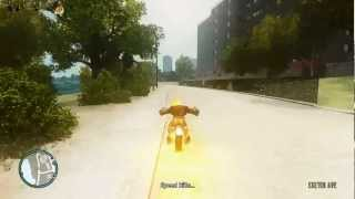 GTA 4  Ghost rider Mod Gameplay