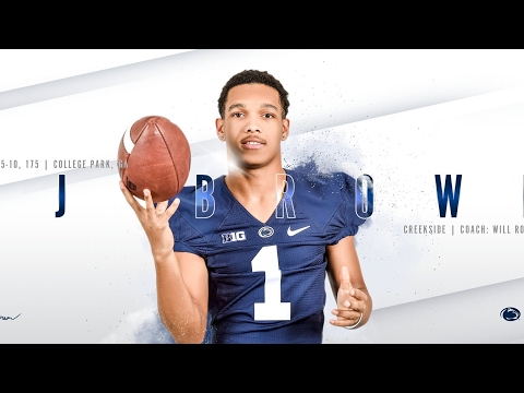 Penn State class of 2017 CB commit DJ BROWN highlights