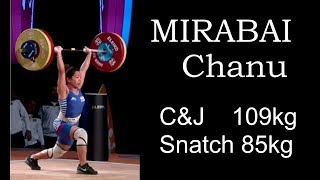 MIRABAI Chanu (48kg) - ALL ATTEMPTS / 2017 WEIGHTLIFTING WORLD CHAMPIONSHIPS