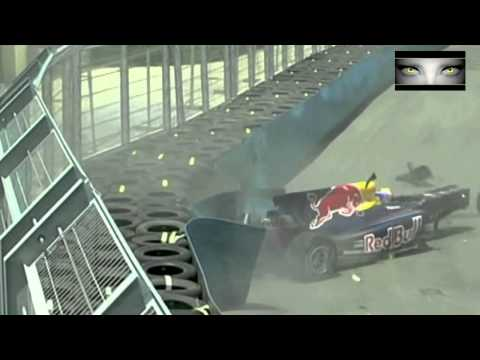Mark Webber Crash Valencia 2010