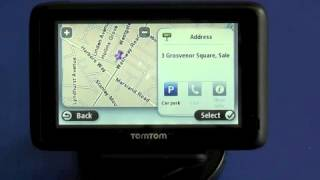 TomTom Pro 7100 Truck - Entering a Postcode