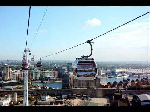 AAW-Vlog: Emirates Cable Car London (Emirates Air Line) travel-2017