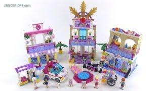 Lego Friends 41058 Heartlake Shopping Mall! Summer 2014 Set