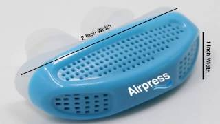 Airpress - Micro CPAP - Sleep Apnea Maskless Device