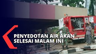 TNI Bantu Penyedotan Air Underpass Kemayoran, Diperkirakan Selesai Malam Ini