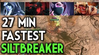 SILTBREAKER Fastest World Record DOTA 2 - How to Easy Win Slitbreaker?