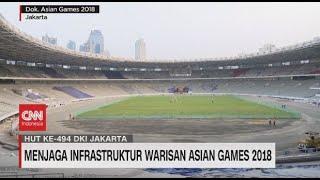 Menjaga Infrastruktur Warisan Asian Games 2018