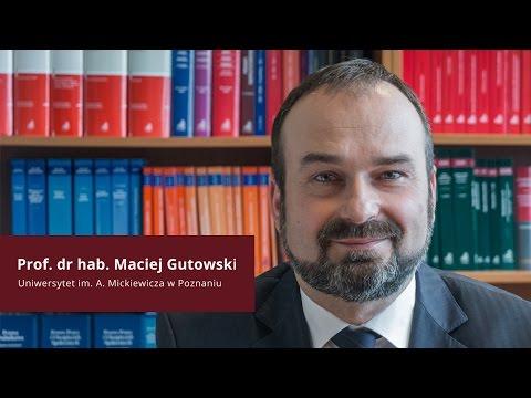 Prof. Maciej Gutowski o najnowszym komentarzu do KC