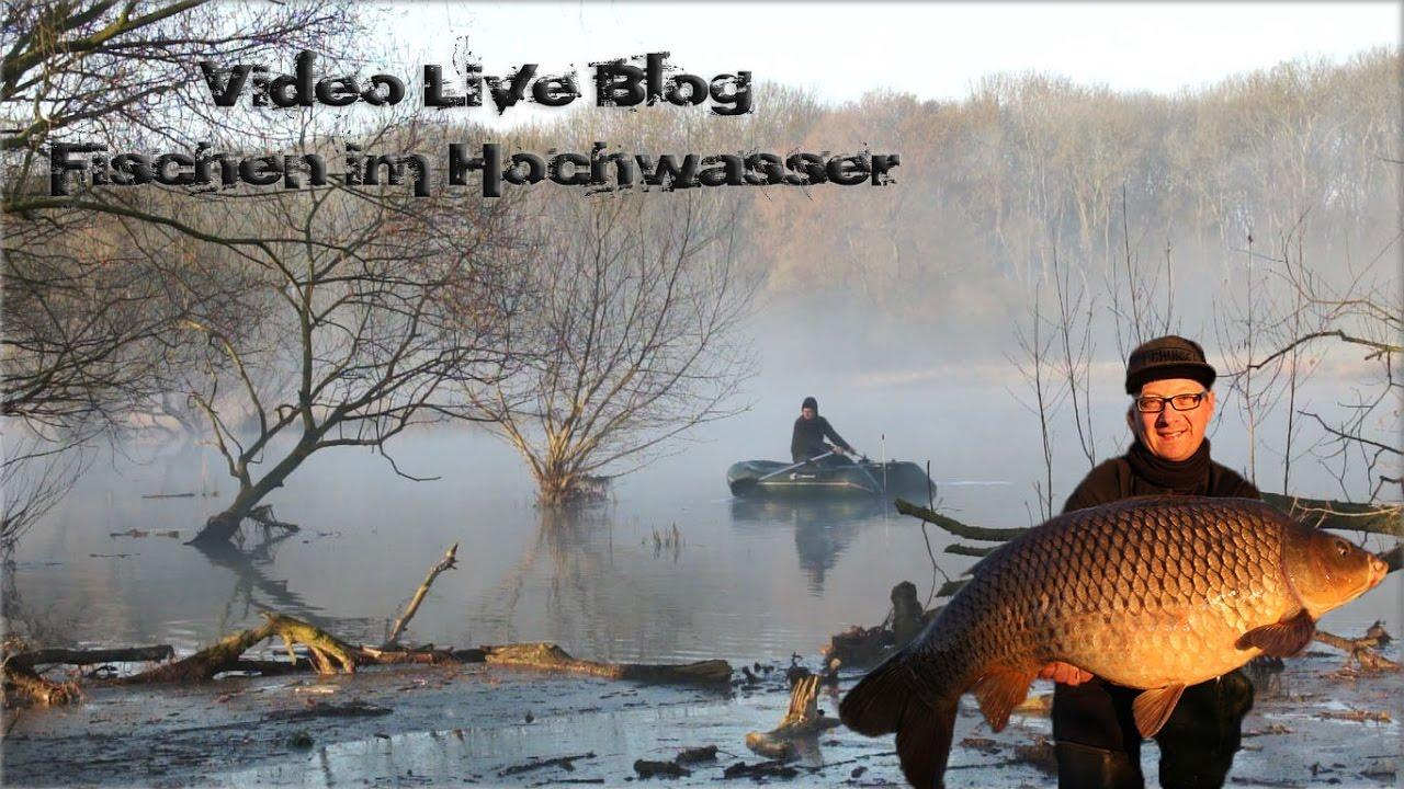 Video Live Blog Fischen im Hochwasser - Christian Graßhoff