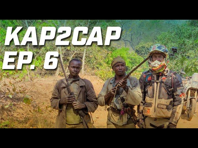 Kap2Cap Ép.6 ► Clandestins en Côte d'Ivoire ► 26.000 km en Ténéré 700