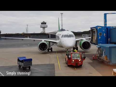 Tripreport of Widerøes new E190-E2 (WIF614 to Bodø) | HD