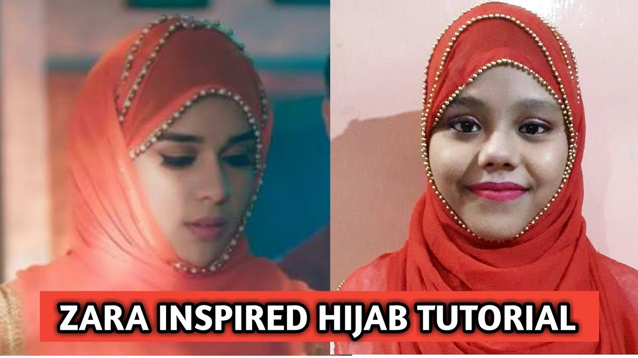 zarasiddiqui hijabtutorial ishqsubhanallah